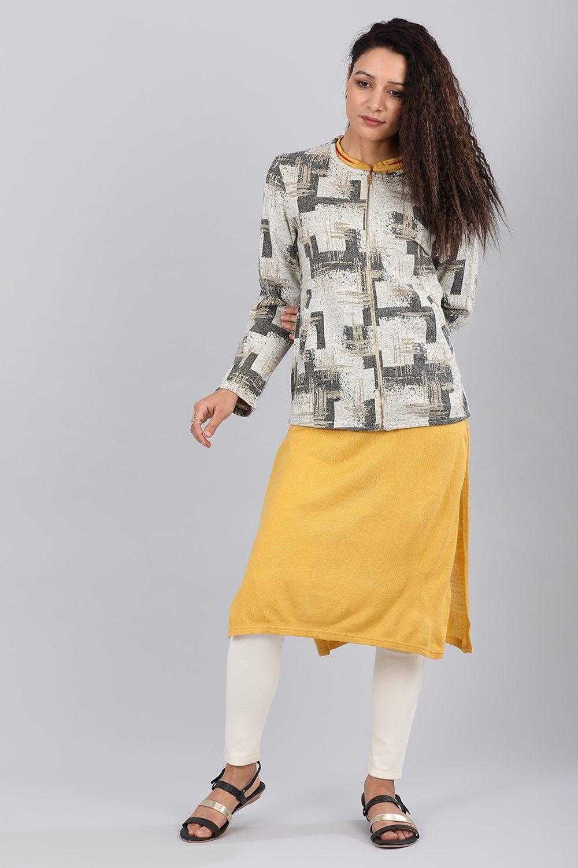 Aurelia | Aurelia Women White Color Jacket