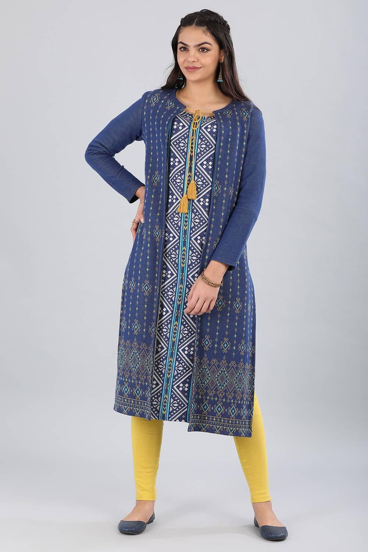 Aurelia | Aurelia Women Blue Color Jacket