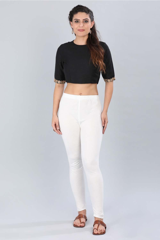 Aurelia | Aurelia Women White Color Tights
