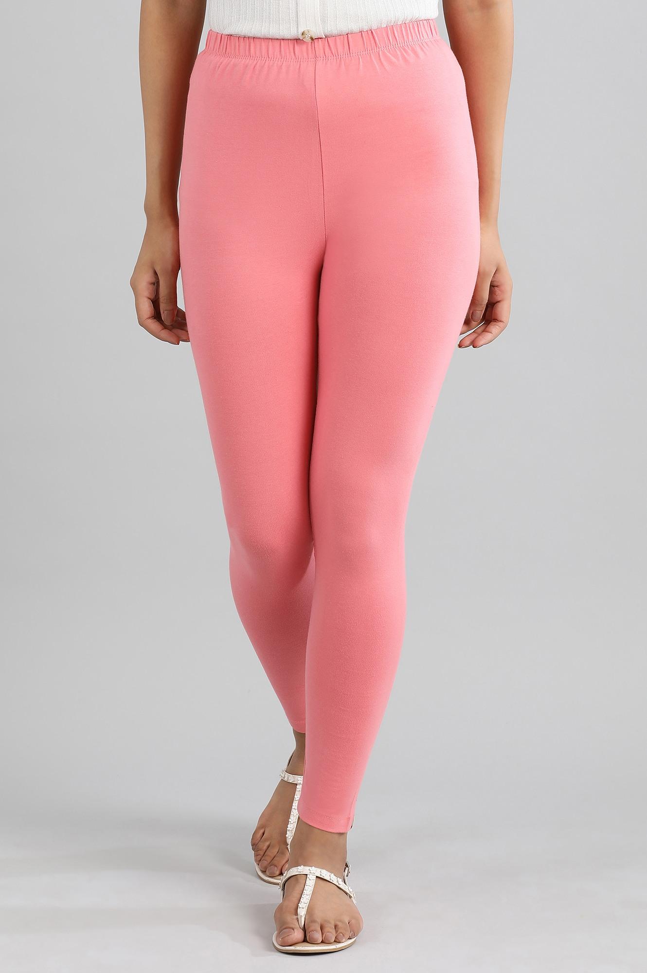 Aurelia | Pink Knitted Tights