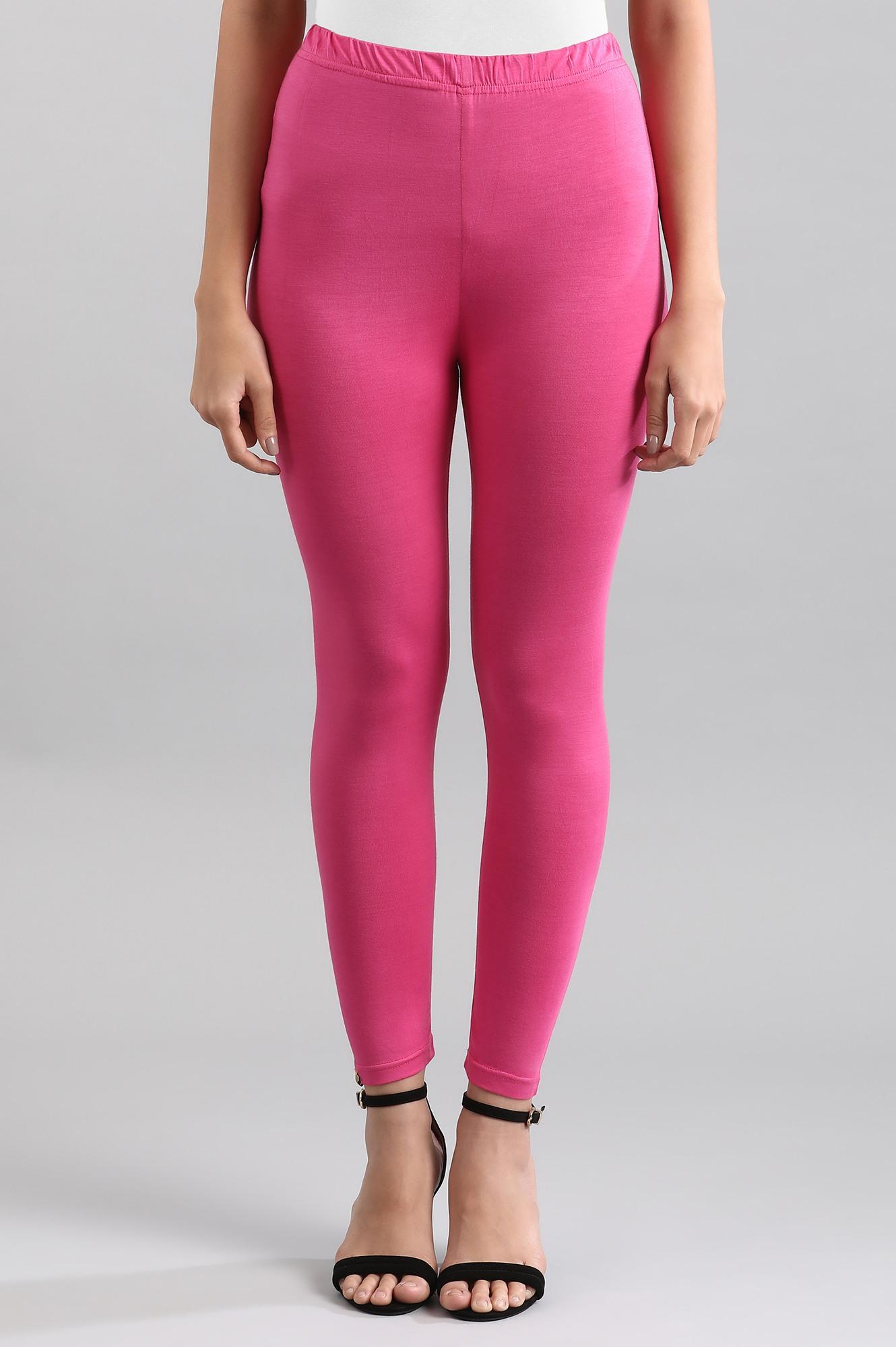Aurelia | Pink Solid Tights
