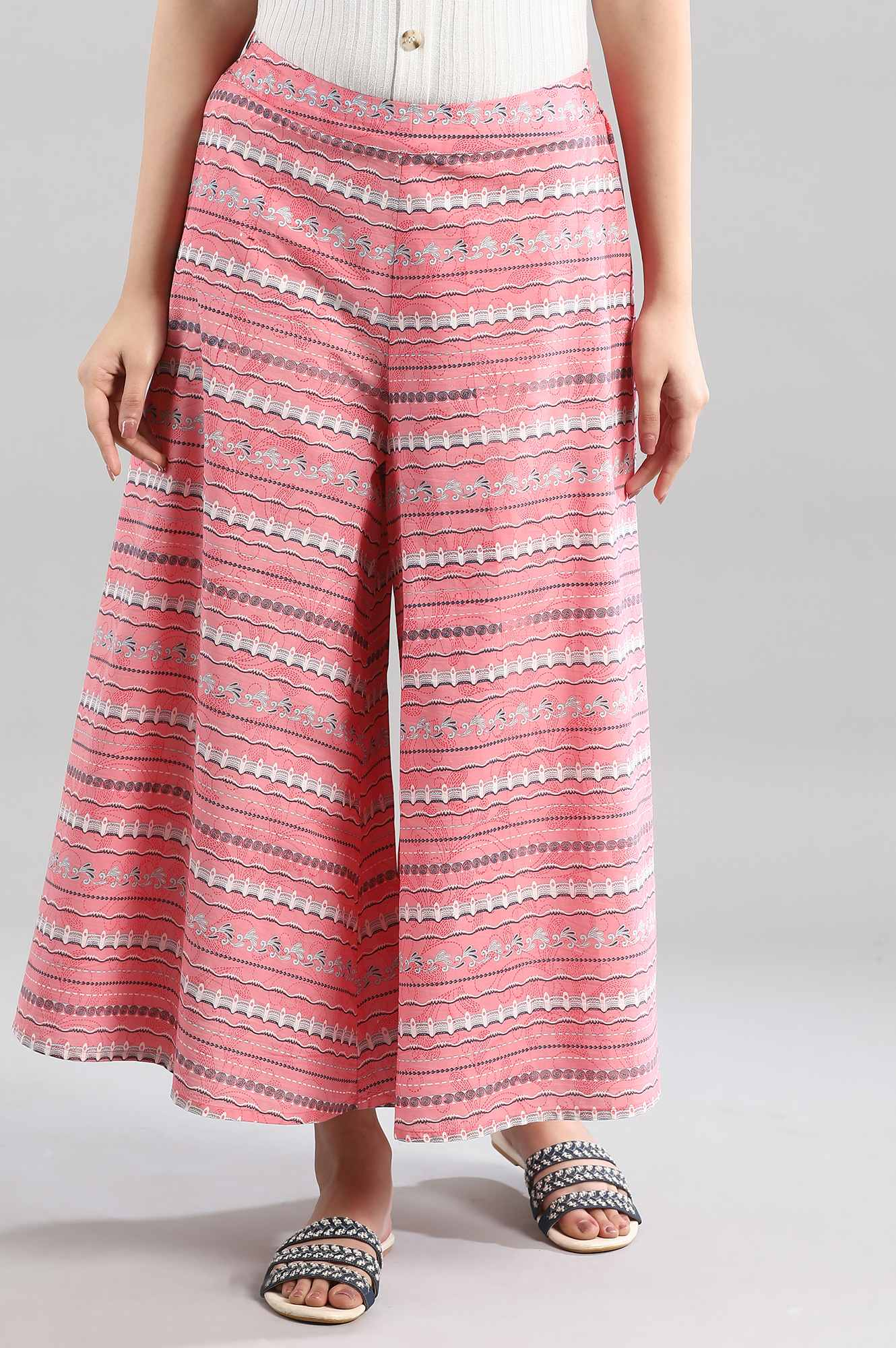 Aurelia | Pink Flared Culottes