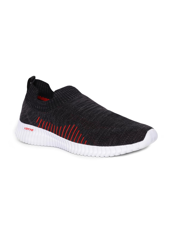 Lotto | Lotto Men's Savino Black/Red Lifestyle Shoe