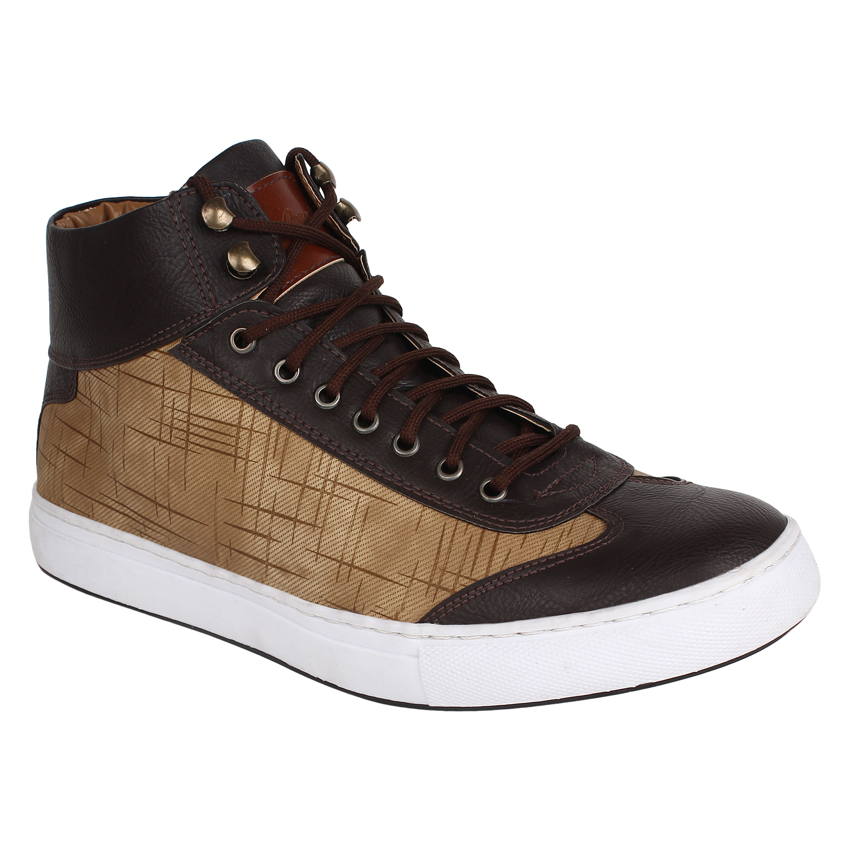 AADY AUSTIN   Aady Austin Crux High Top Shoes - Brown