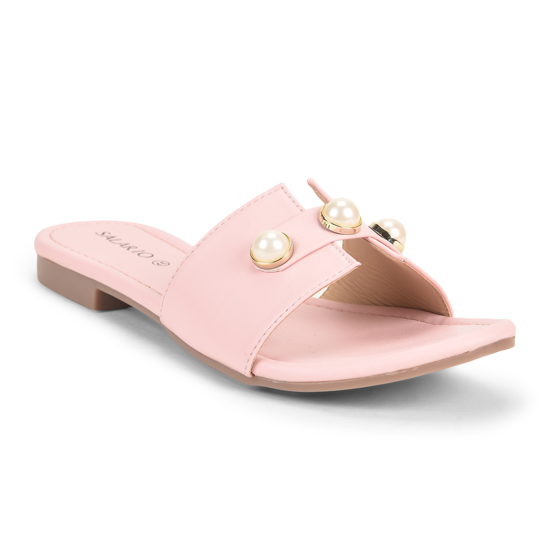 SALARIO   Salario Western Beaded Flat Sandals