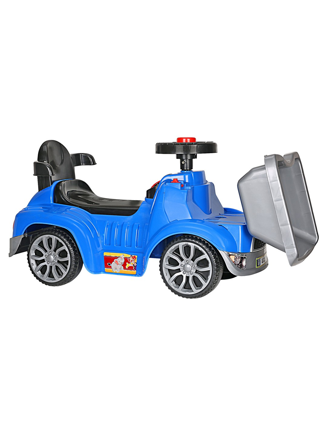 CREATURE | Creature Blue Ooga Rider Ride-On Cars Toy Vehicle for Kids