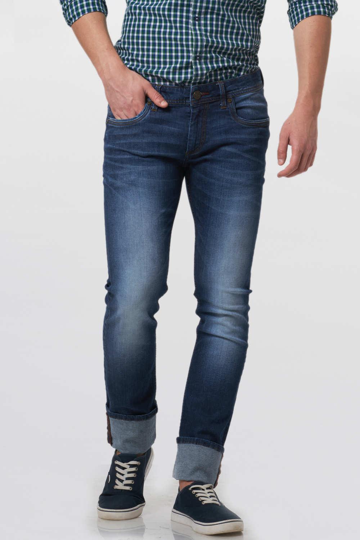 Basics | Basics Torque Fit Sodalite Navy Stretch Jean