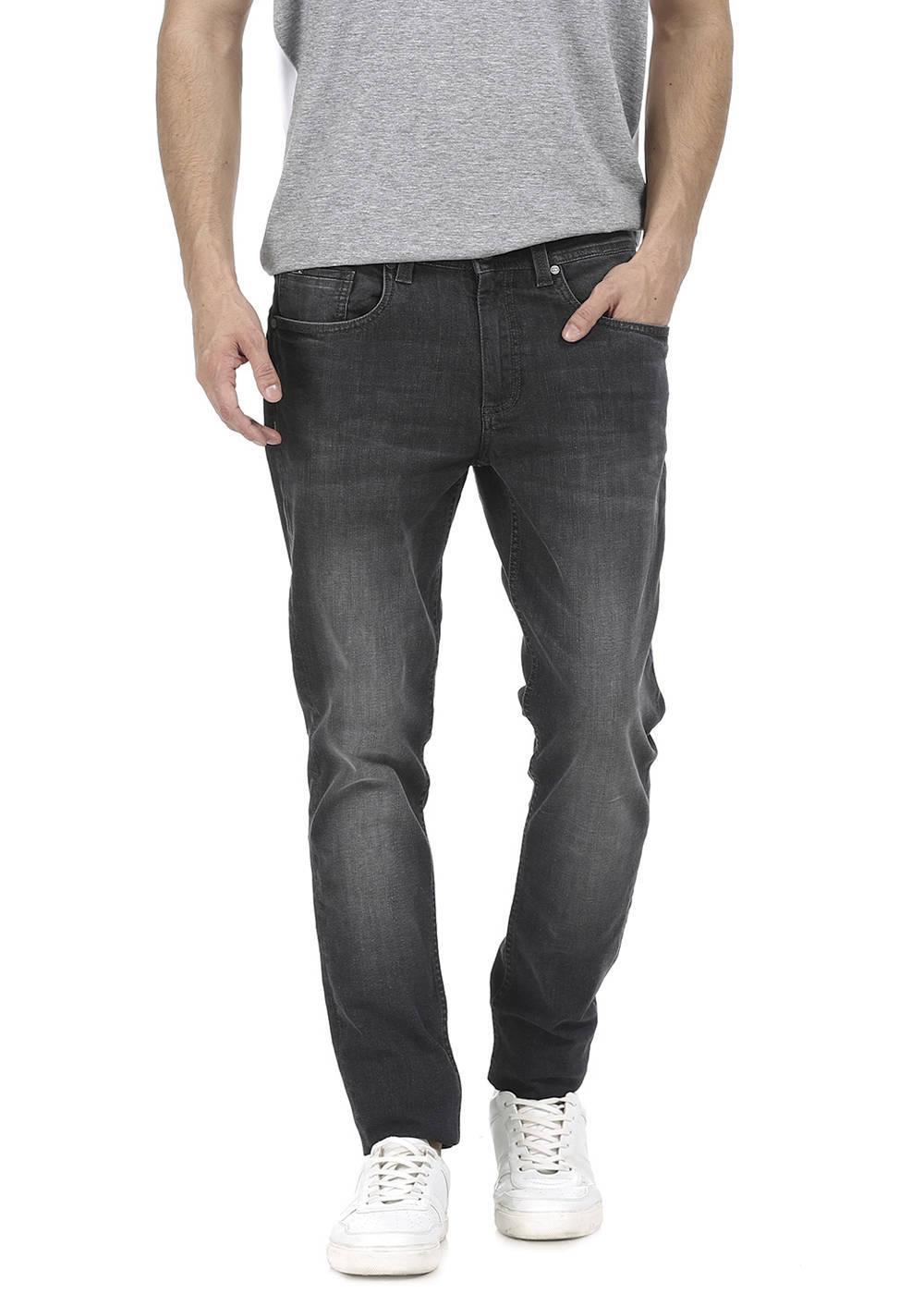 Basics | Basics Blade Fit Excalibur Grey Stretch Jean