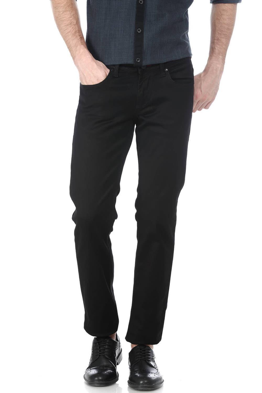 Basics | Basics Torque Fit Pirate Black Stretch Jean
