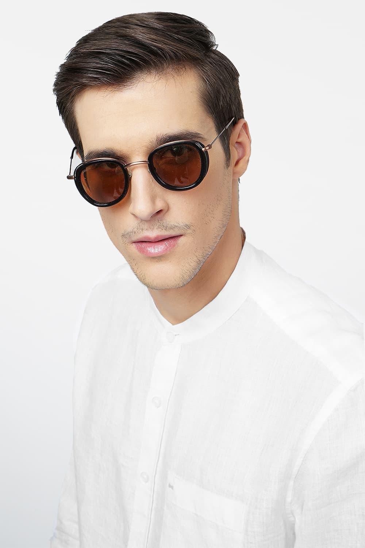 Basics | Basics Slim Fit White Linen Shirt