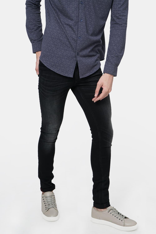 Basics | Basics Blade Fit Pirate Black Stretch Jean