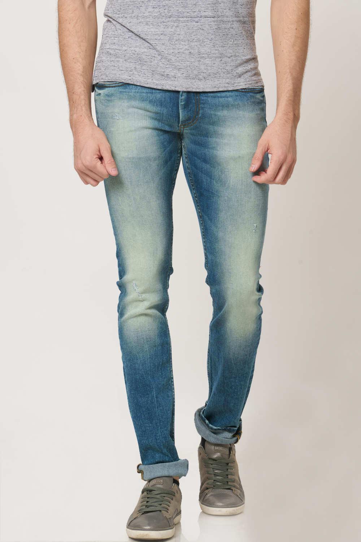 Basics | Basics Blade Fit Ensign Blue Stretch Jean