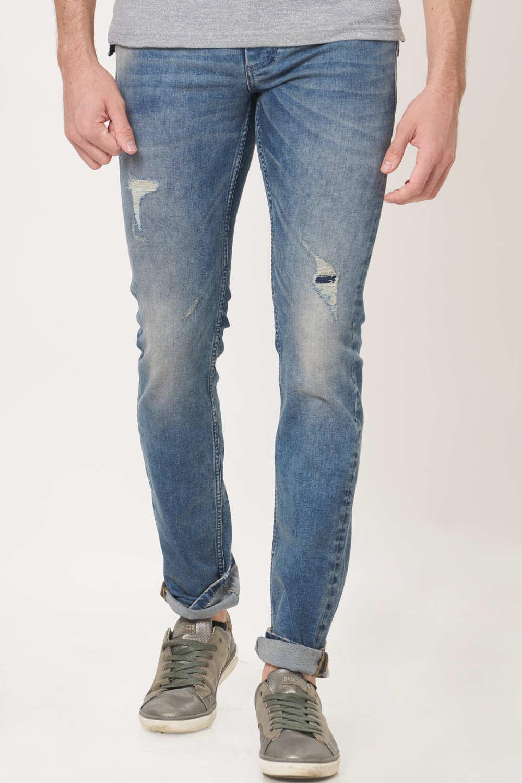 Basics | Basics Torque Fit Infinity Blue Stretch Jean