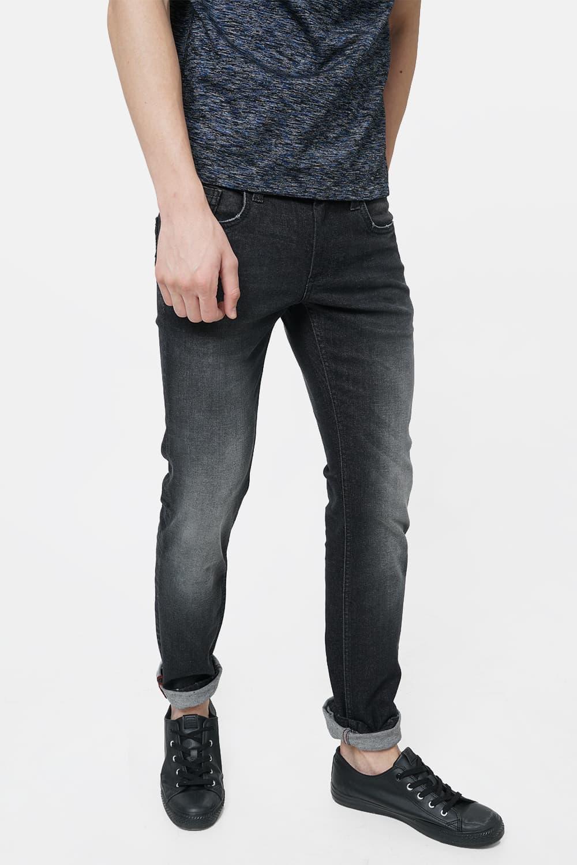 Basics | Basics Drift Fit Phantom Black Stretch Jean