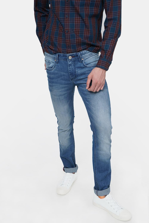Basics | Basics Drift Fit Infinity Blue Stretch Jean