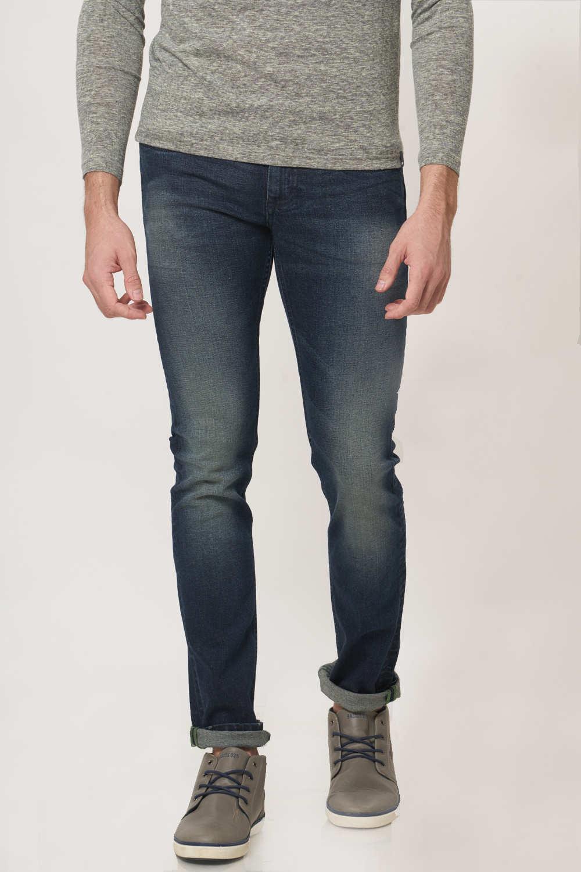 Basics | Basics Torque Fit Salute Navy Stretch Jean
