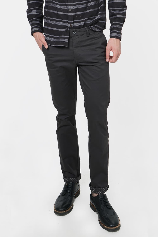 Basics | Basics Tapered Fit Shale Grey Stretch Trouser