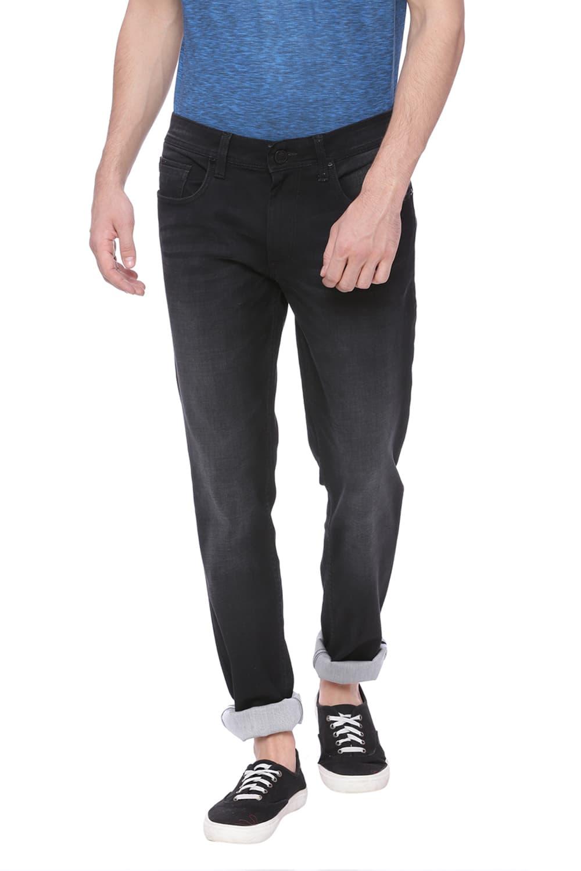 Basics | Basics Blade Fit Anthracite Stretch Jean