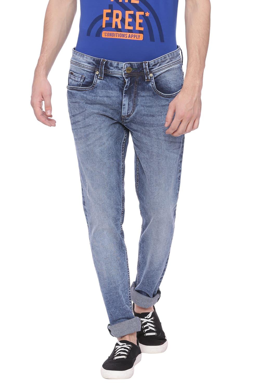 Basics | Basics Blade Fit Graphite Stretch Jean