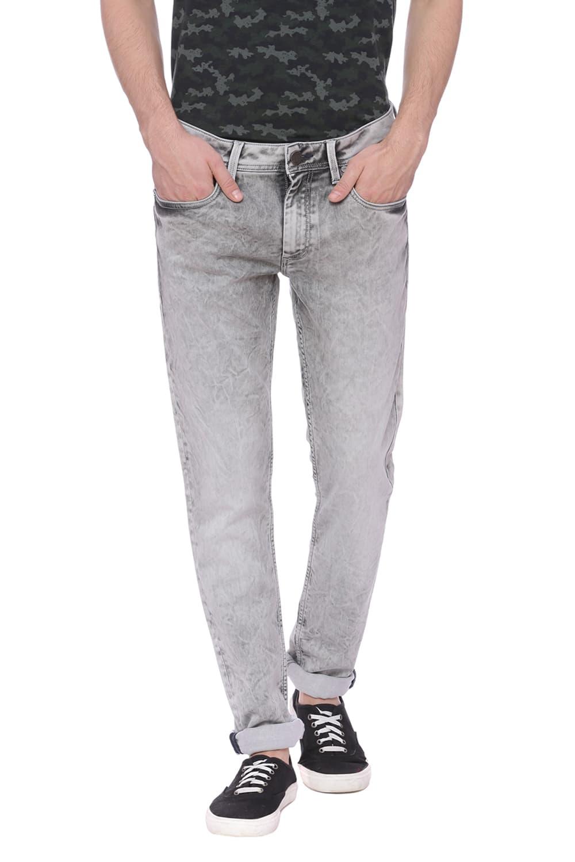 Basics | Basics Blade Fit Flint Grey Stretch Jean