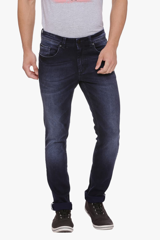 Basics | Basics Blade Fit Peacoat Stretch Jean