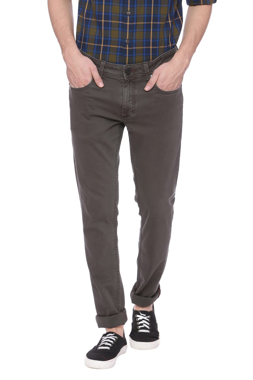 Basics | Basics Blade Fit Kombu Green Stretch Jean
