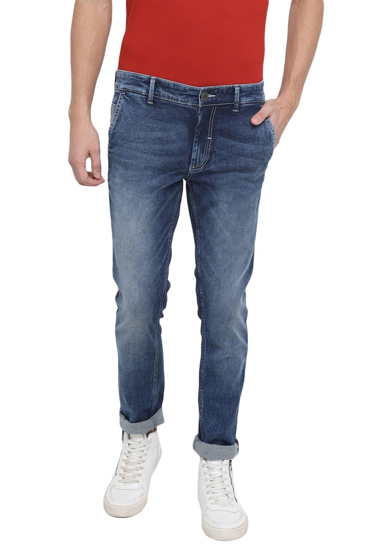 Basics | Basics Blade Fit Blue Stone Stretch Jean