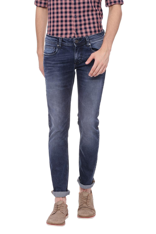 Basics | Basics Drift Fit Ombre Blue Stretch Jean