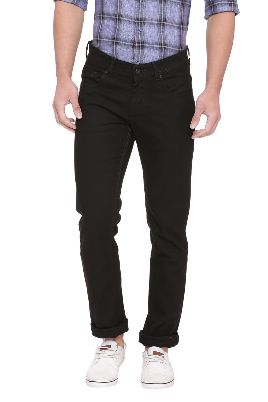 Basics | Basics Torque Fit Jet Black Stretch Jean