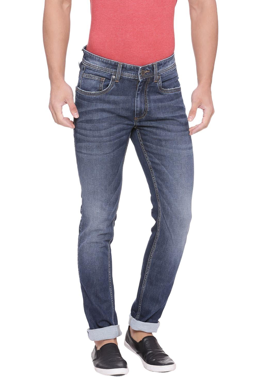 Basics | Basics Blade Fit Ombre Blue Stretch Jean