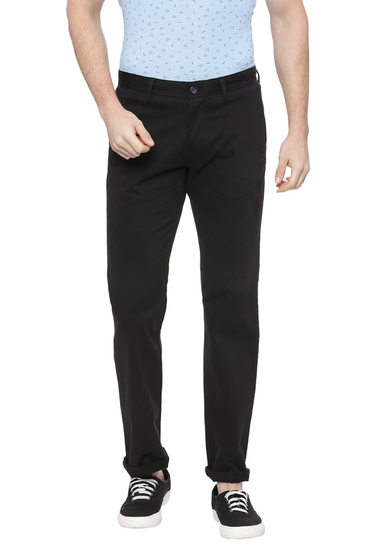 Basics | Basics Tapered Fit Phantom Black Stretch Trouser