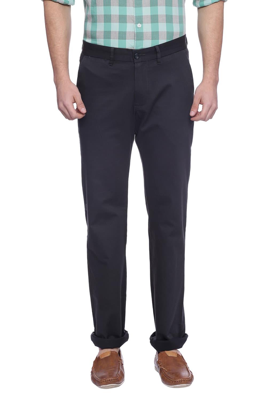 Basics | Basics Skinny Fit Dark Shadow Navy Stretch Trouser