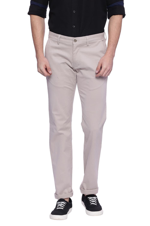 Basics   Basics Skinny Fit Porpoise Grey Stretch Trouser