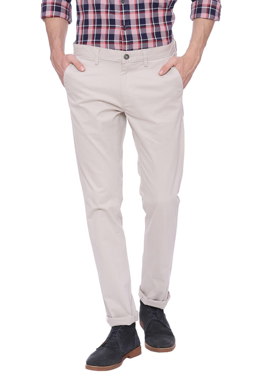 Basics   Basics Skinny Fit Moonstruck Grey Stretch Trouser