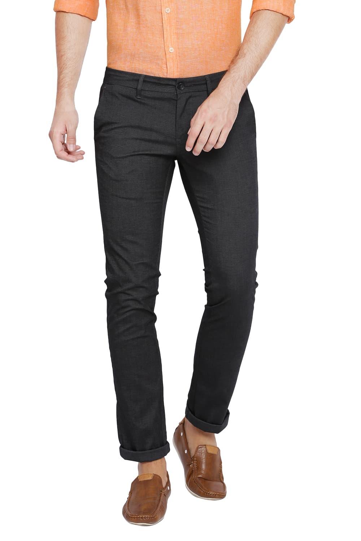 Basics   Basics Skinny Fit Dark Shadow Stretch Trouser
