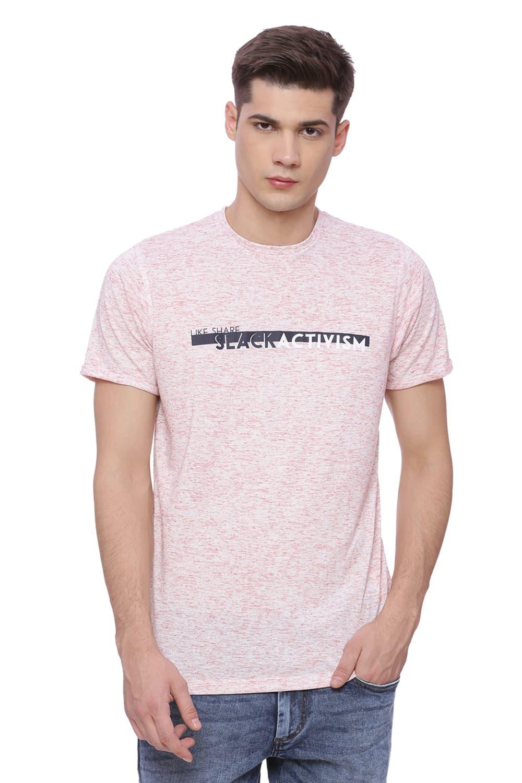 Basics | Basics Muscle Fit Brick Red Crew Neck T Shirt