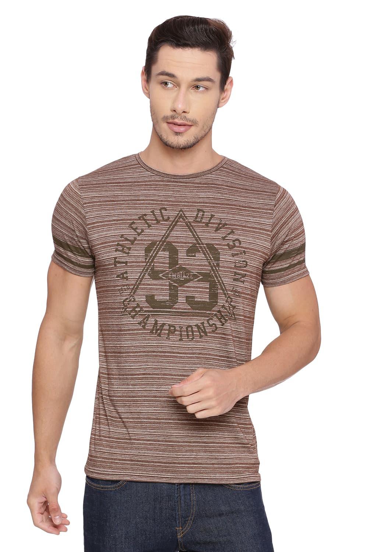 Basics | Basics Muscle Fit Coffee Liquor Crew Neck T Shirt