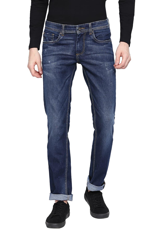 Basics | Basics Torque Fit Insignia Blue Stretch Jeans