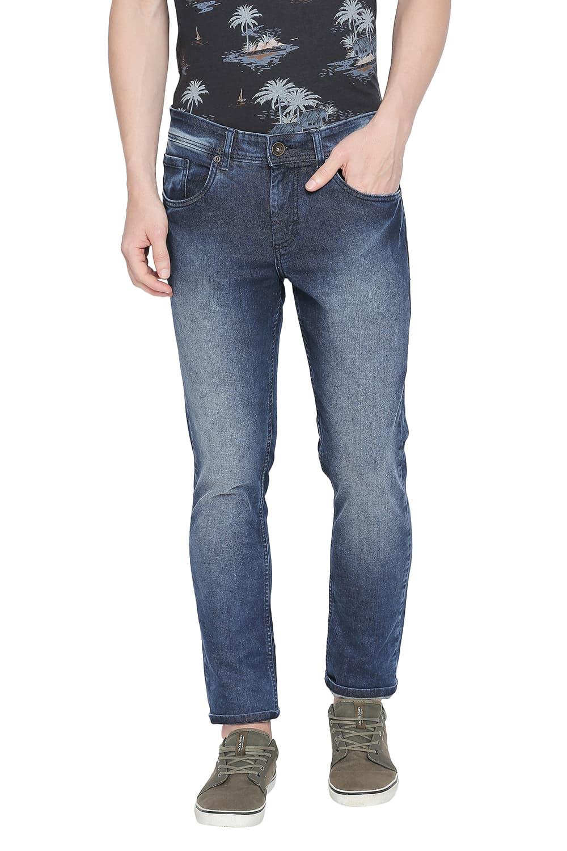 Basics | Basics Blade Fit Insignia Blue Stretch Jean