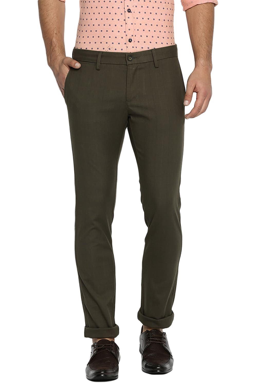 Basics | Basics Skinny Fit Forest Night Stretch Trouser