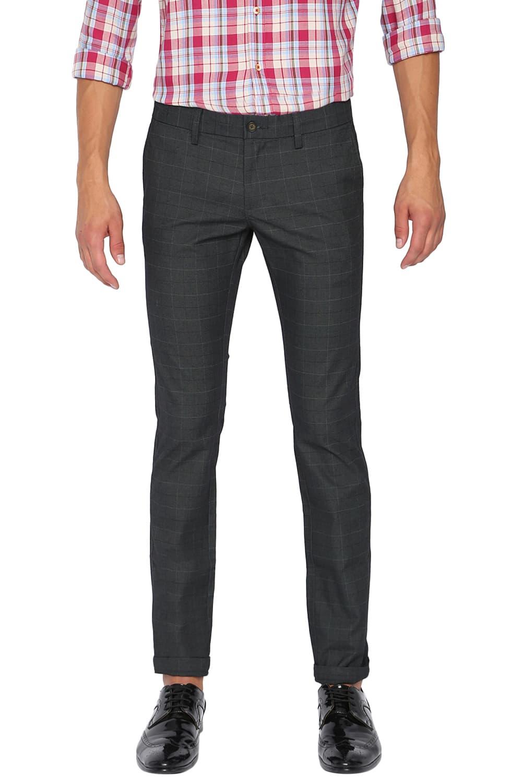 Basics | Basics Skinny Fit Deep Forest Stretch Trouser