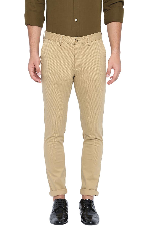 Basics | Basics Skinny Fit Taos Taupe Stretch Trouser