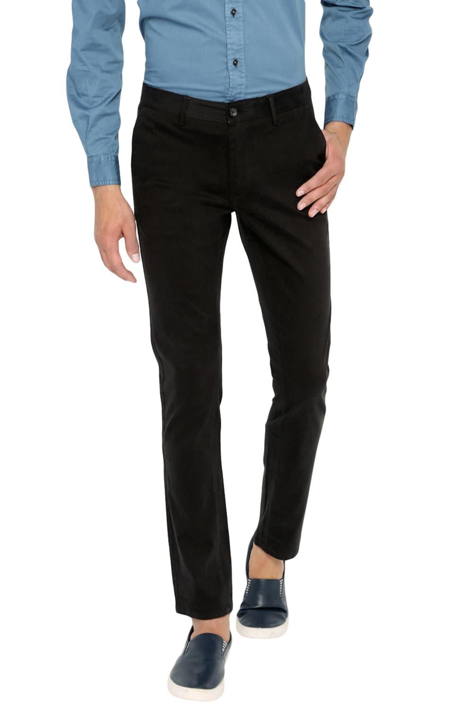 Basics | Basics Skinny Fit Caviar Stretch Trouser