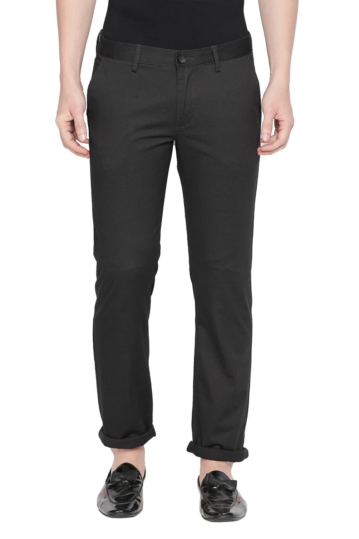 Basics | Basics Tapered Fit Moonless Night Stretch Trouser