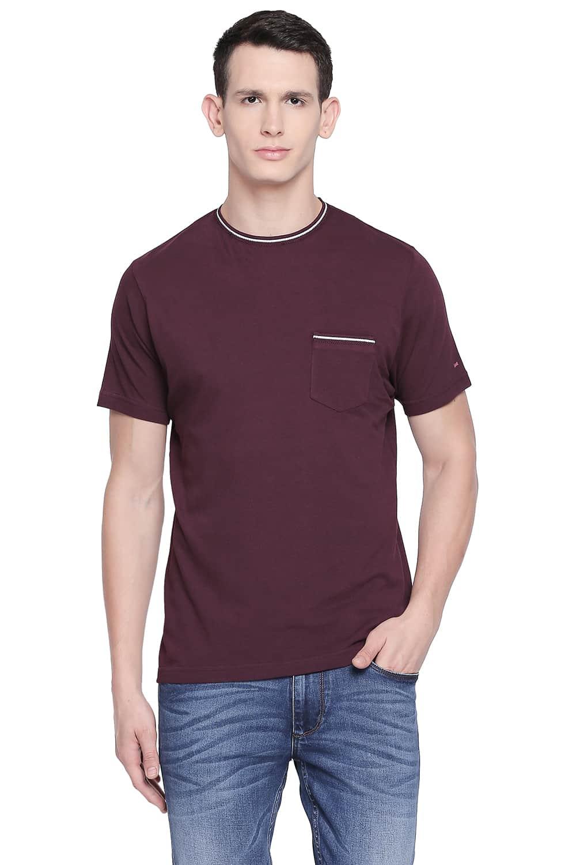 Basics | Basics Muscle Fit Winetasting Crew Neck T Shirt