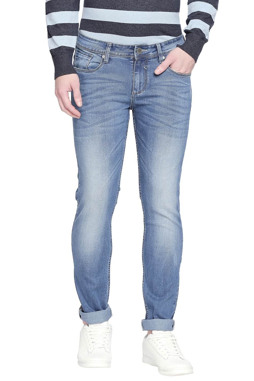 Basics | Basics Torque Fit Parisian Blue Stretch Jeans