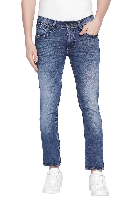 Basics | Basics Blade Fit Insignia Blue Stretch Jeans