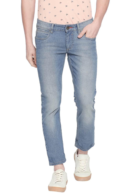 Basics | Basics Torque Fit Blue Heaven Stretch Jeans