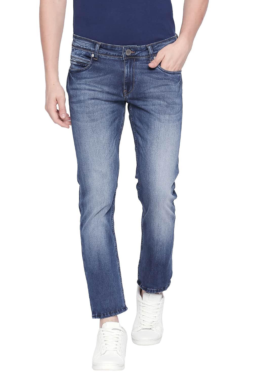 Basics | Basics Torque Fit Monaco Blue Stretch Jeans