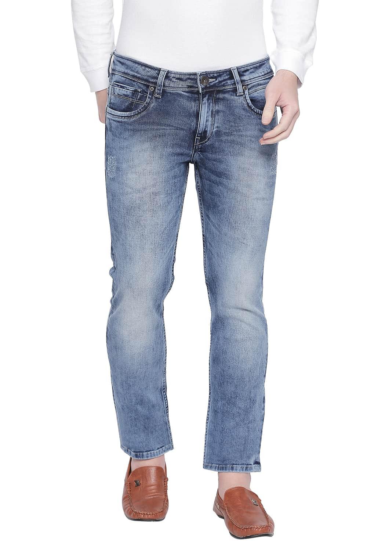 Basics | Basics Torque Fit Coronet Blue Stretch Jeans